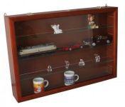 Zobrazit detail - Dřevěná vitrína MIDI na uložení minerálů, autíček, figurek, atd.