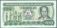 Mosambik (P 130) - 100 Meticais (1989) - UNC