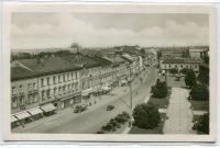 Prostějov - náměstí (50. léta)