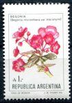 (1985) MiNr. 1757 ** - Argentina - Begonie