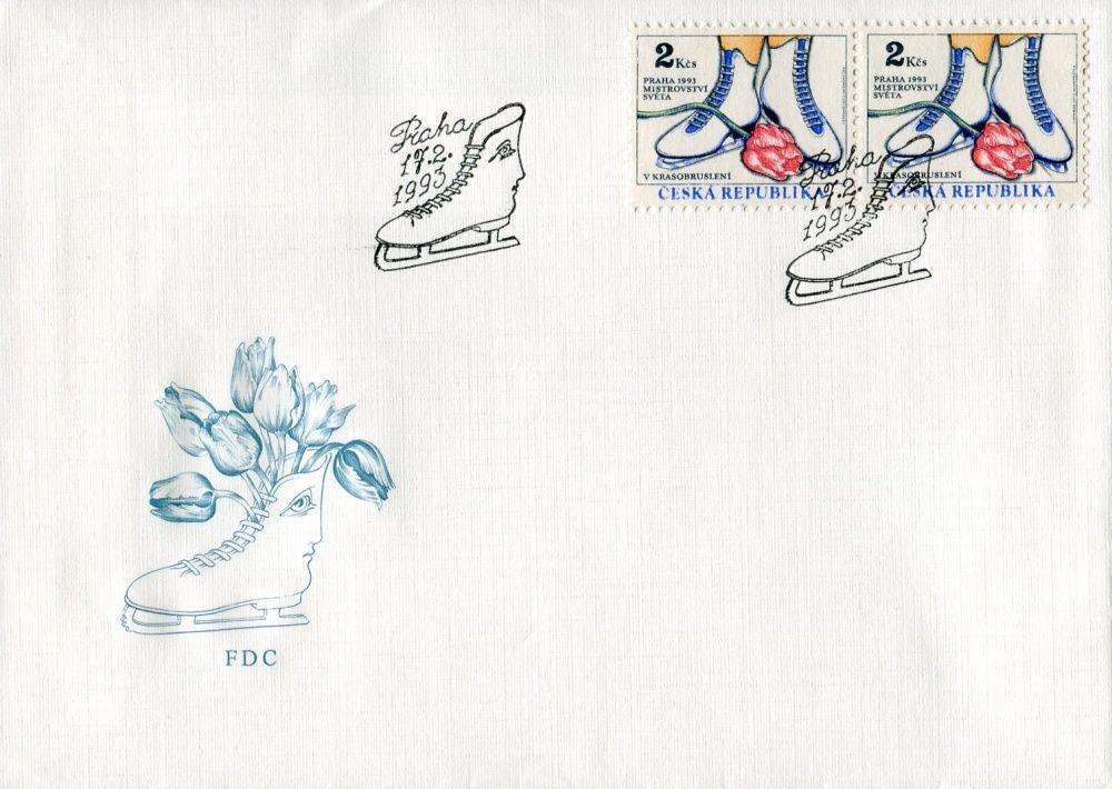 (1993) FDC 2 - MS v krasobruslení