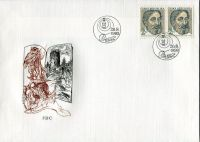 (1993) FDC 21 - 22 - Czech republic