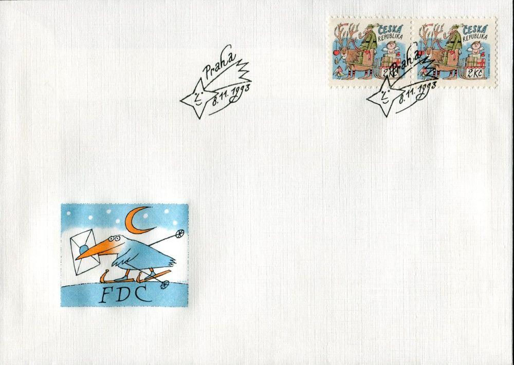 Česká pošta (1993) FDC 26 - Vánoce