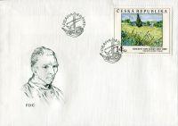 (1993) FDC 27 - 29 - Umělecká díla na známkách