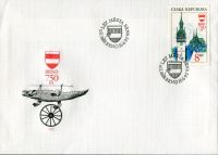 (1993) FDC 9 - Czech republic