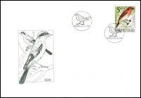 (1994) FDC 49 - 51 - Ochrana přírody - Zpěvné ptactvo (3)
