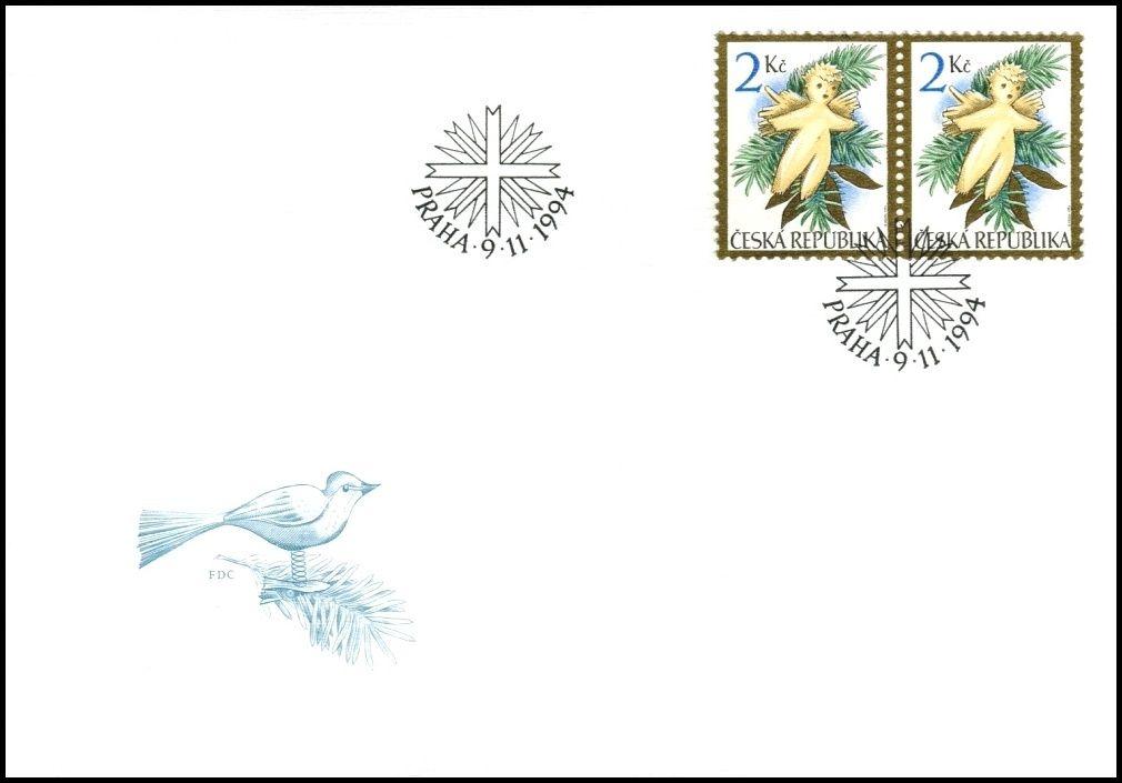 Česká pošta (1994) FDC 56 - Vánoce