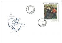 (1994) FDC 57 - 59 - Umění 1994 (3)
