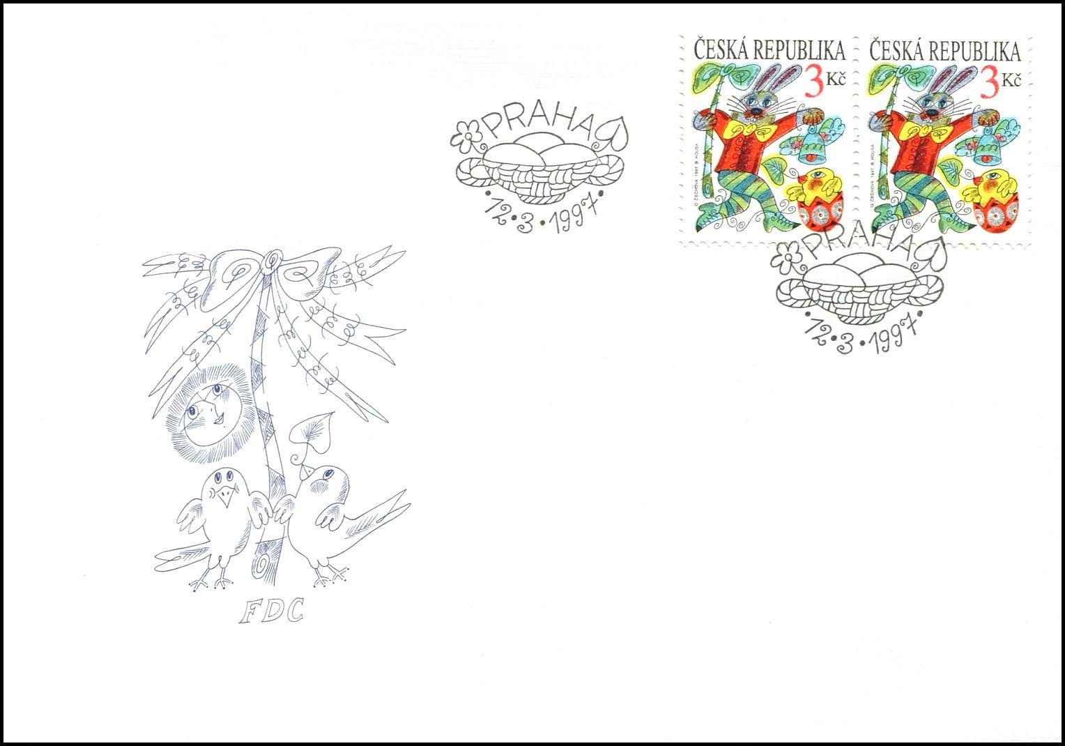 Česká pošta (1997) FDC 138 - Velikonoce