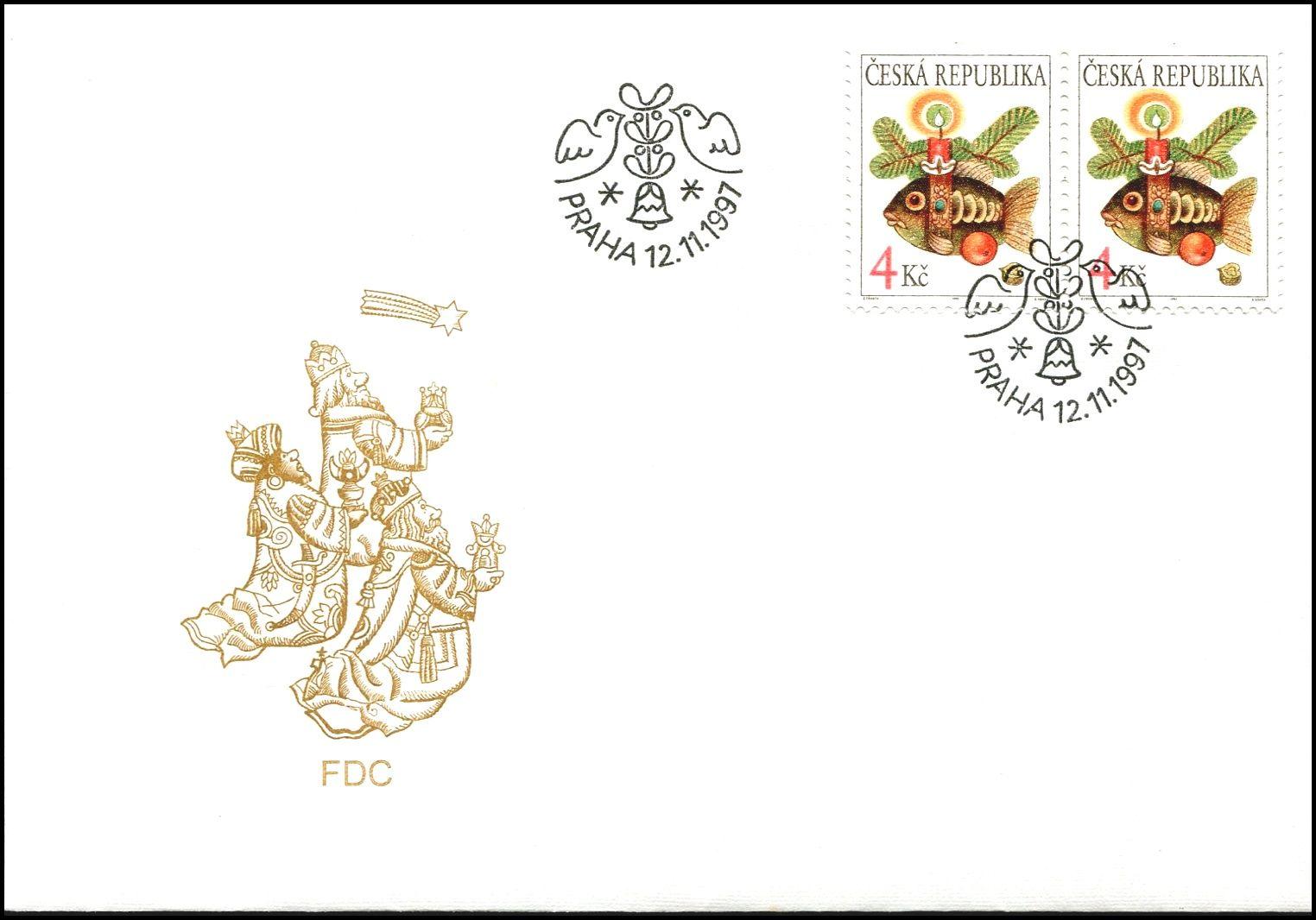 Česká pošta (1997) FDC 165 - Vánoce