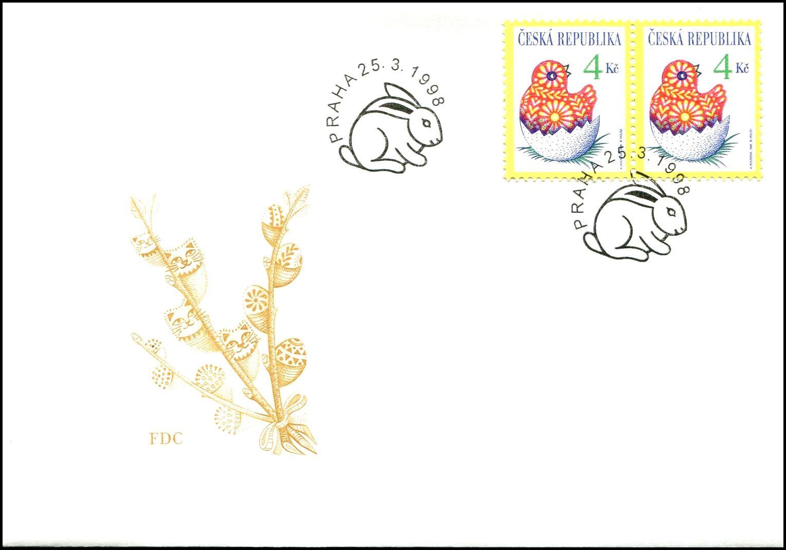 Česká pošta (1998) FDC 172 - Velikonoce