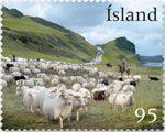 Zobrazit detail - (2009) MiNr. 1247 ** - Island - chov ovcí