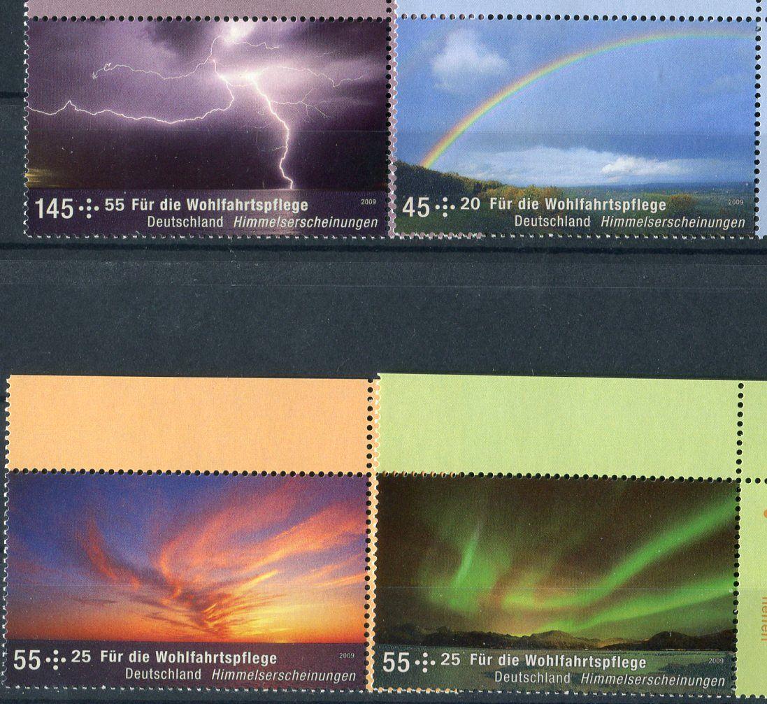 (2009) MiNr. 2707 - 2710 ** - Německo - nebeské jevy