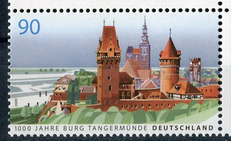 (2009) MiNr. 2712 ** - Německo - 1000 let hrad Tangermünde