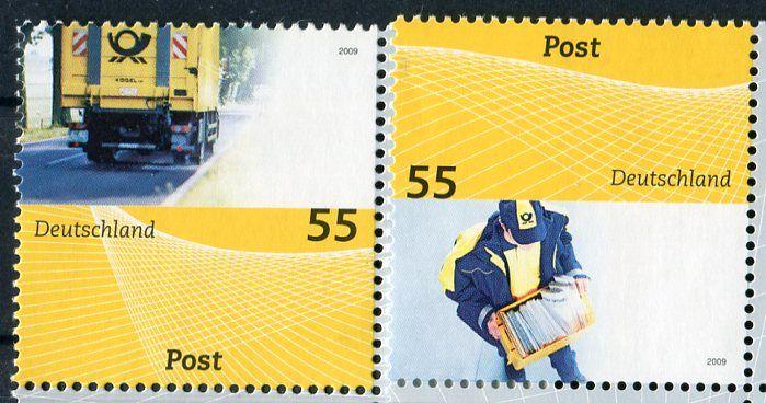 (2009) MiNr. 2733 - 2734 ** - Německo - Pošta: Odeslat univerzální