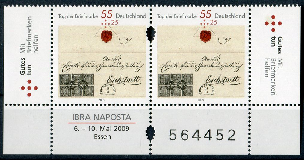 (2009) MiNr. 2735 ** - Německo - Den známky