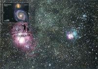 (2009) MiNr. 297 ** - Portugalsko - Cartes Maximus - Europa: Astronomie