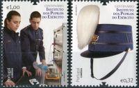 (2011) MiNr. 3626 - 3627 ** - Portugalsko - 100 let Institutu pro vojenský výcvik