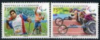 (2012) MiNr. 1589 - 1590 ** - Nová Kaledonie - Paralympijské letní hry, Londýn