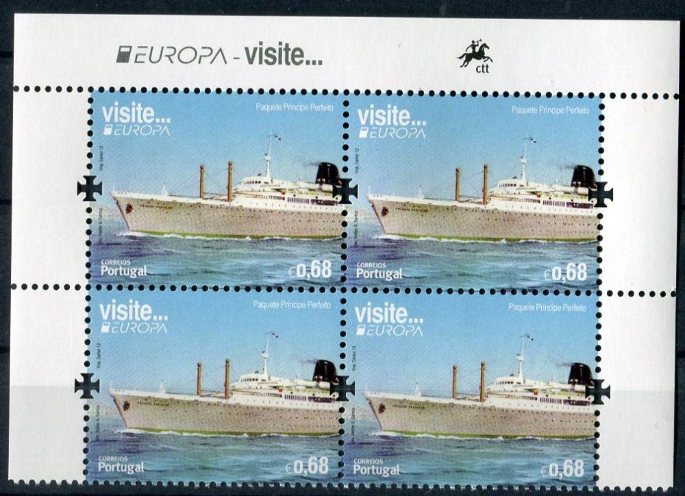 (2012) MiNr. 3720 ** - Portugalsko - Evropa: Návštěvy