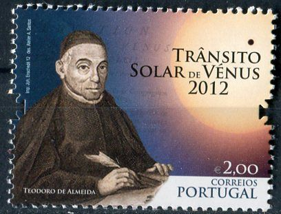 (2012) MiNr. 3740 ** - Portugalsko - Astronomie: Venus Transit