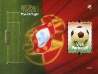 (2012) MiNr. 3742 ** - Portugalsko - BLOCK 334 - Mistrovství Evropy ve fotbale, Polsko a Ukrajina
