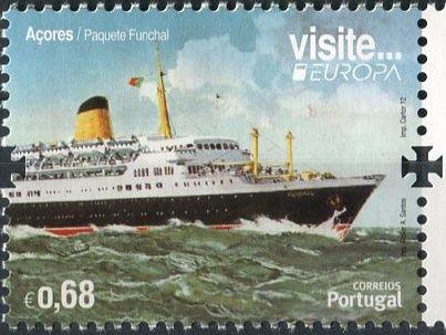 (2012) MiNr. 577 ** - Portugalsko Azory - Europa: Návštěvy