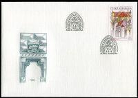 (2013) FDC 759 - Krásy naší vlasti - Klášter Zlatá koruna
