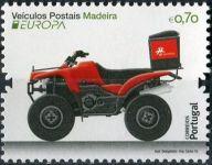 (2013) MiNr. 324 ** - Portugalsko Madeira -  Europa: Vozidla pošty