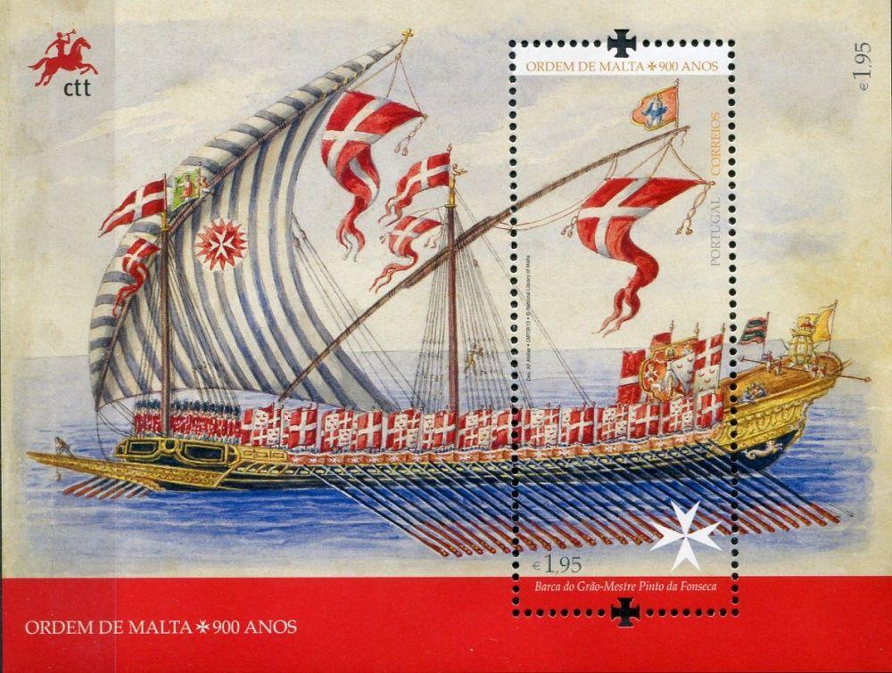 (2013) MiNr. 3890 ** - Portugalsko - BLOCK 353 - Loď Manuela Pinto da Fonseca