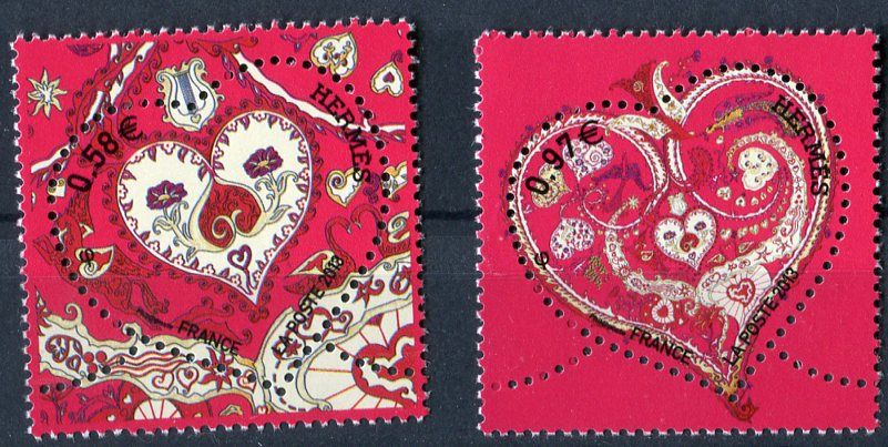 (2013) MiNr. 5496 - 5497 ** - Francie - srdce