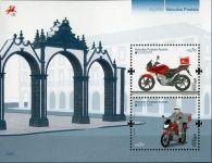 (2013) MiNr. 586 ** - Portugalsko Azory - BLOCK 52 - Europa: Poštovní vozidla
