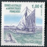 (2013) MiNr. 802 ** - Francouzská Antarktida - Segler