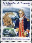 (2013) MiNr. 810 ** - Francouzská Antarktida - Bernard Boudin de Tromelin