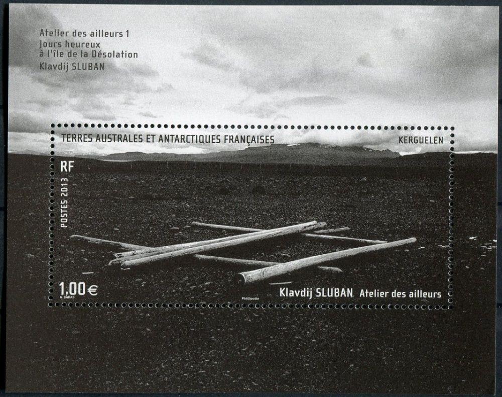 (2013) MiNr. 835 ** - Francouzská Antarktida - Block 37 - Vítězové výtvarné soutěže
