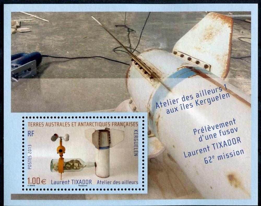 (2013) MiNr. 836 ** - Francouzská Antarktida - Block 38 - Vítězové výtvarné soutěže