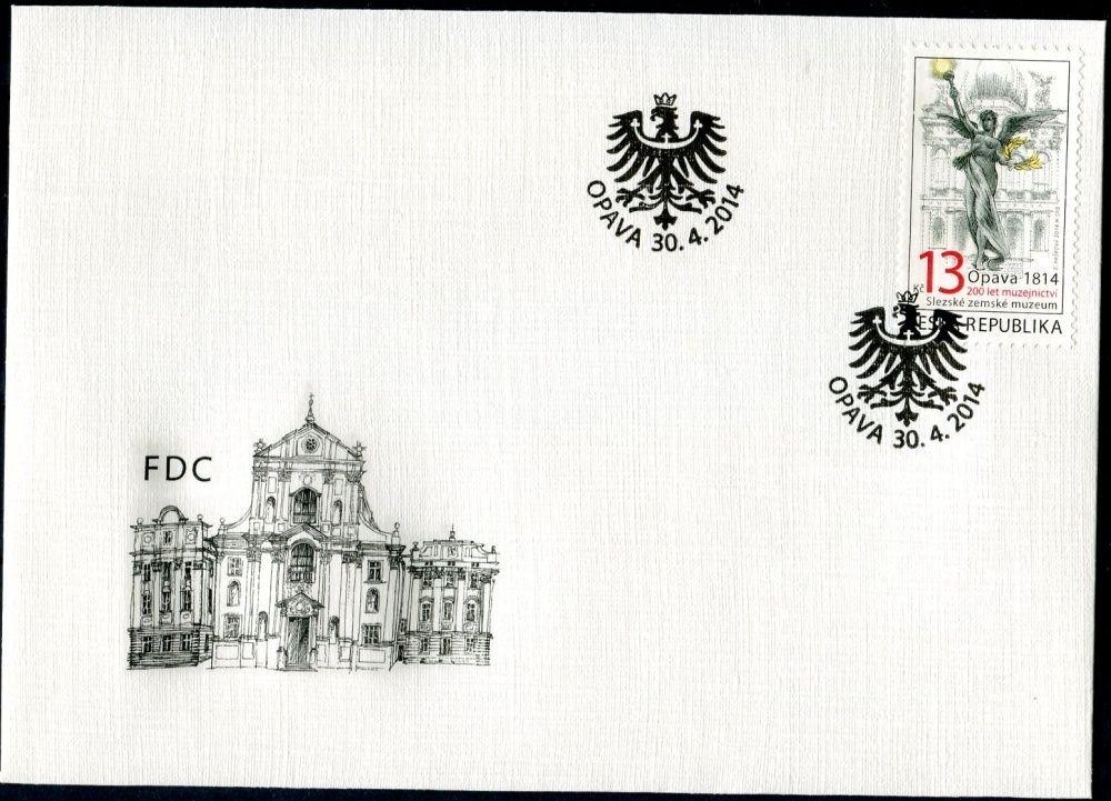 (2014) FDC 806 - 200 let muzejnictví - Slezské zemské muzeum