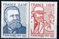 (2014) MiNr. 5930 - 5931 ** - Francie - 100. výročí úmrtí Jean Jaurès