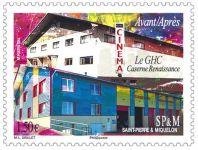 (2015) MiNr. 1225 ** - Saint Pierre a Miquelon - renesanční kasárna