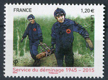 (2015) MiNr. 6076 ** - Francie -  70 let Národní odminovací služba