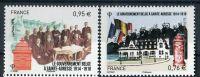 (2015) MiNr. 6094 - 6095 ** - Francie -  Belgická vláda v Sainte-Adresse 1914-1918