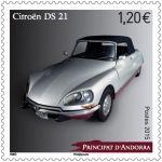 (2015) MiNr. 786 ** - Andora (Fr.) -  Automobil