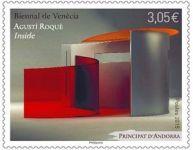 (2015) MiNr. 791 ** - Andora (Fr.) -  Umělecká výstava Bienále