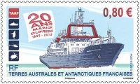 (2015) MiNr.  895 ** - € 0,80,- Französisch Antarktis - Schiff Marion Dufresne
