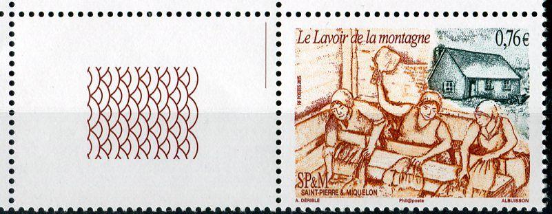 (2015) MiNr.  ** - Saint Pierre a Miquelon - praní prádla