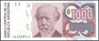 Argentina (P329a) - 1000 Australes (1989) - UNC