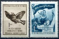 (1953) č. 700 - 701 ** - Československo - II. čs. sjezd obránců mírů v Praze