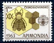 Zobrazit detail - (1963) č. 1320 ** - Československo - XIX. mezinárodní včelařský kongres