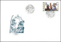 (1998) FDC 183 - 184 - EUROPA (2) - Národní slavnosti