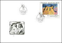 (1998) FDC 191 - 192 - Umění 1998 I. (2)